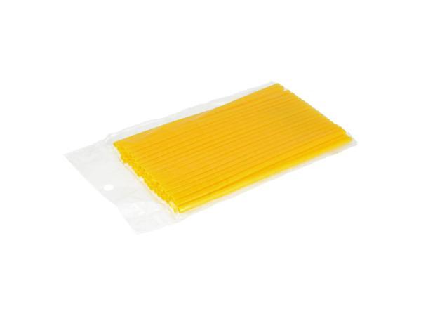 10069760 Set: 36x Speichen-Cover Gelb, Speichenschutz, Länge 180mm - Bild 1