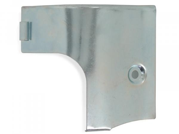 Half-shell engine plate, galvanized - for Simson KR51/1 Schwalbe, SR4-2 Star, Duo 4/1