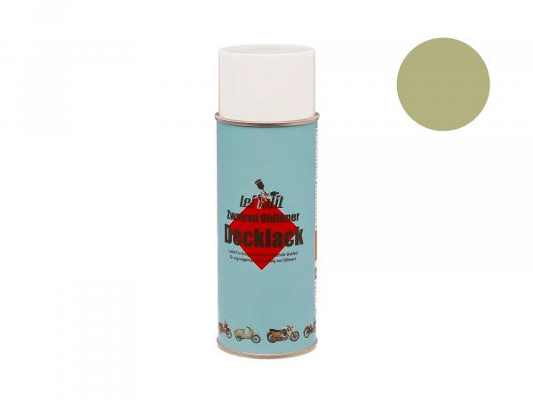 Spray can Leifalit top coat lime green - 400ml