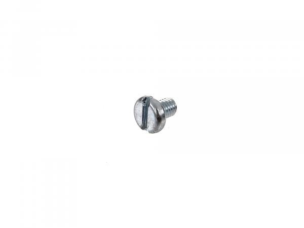 Flat head screw, slotted M6x8 - DIN85