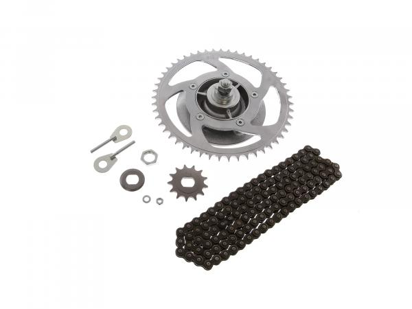 Chain kit with small parts - Simson S53M - Mofa 25km/h