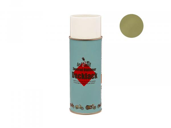 Spray can Leifalit top coat reed green - 400ml
