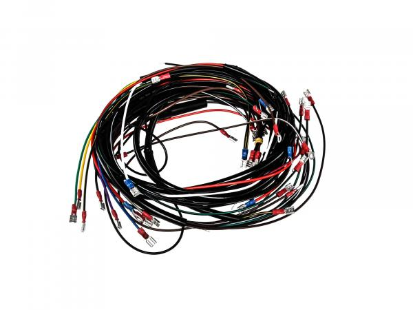 Cable harness set, basic equipment without wiring diagram - for Simson SR50, SR80