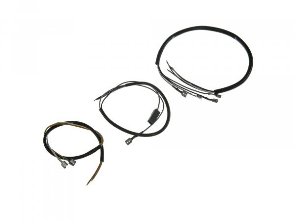 Cable harness for switch combination 6V + 12V with headlight flasher - Simson SR50, SR80