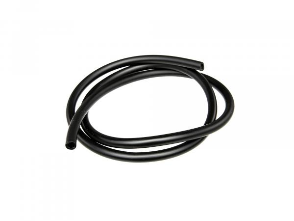Fuel hose, black, 1 meter, Ø 5x8,2mm