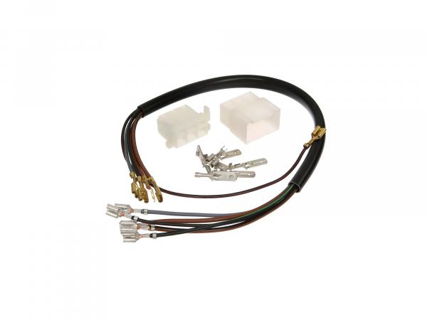 Connection cable harness for sidecar compl. with plug connection - for MZ ETZ 250,251,301