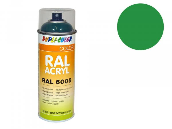 Dupli-Color Acrylic Spray RAL 6024 traffic green, glossy - 400 ml