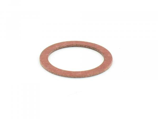 Gasket - (red) for banjo bolt - suitable for carburettor AWO-T