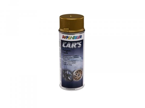Dupli-Color CAR'S Wheel Lacquer, Gold - 400ml