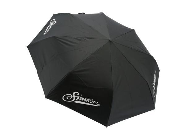 """10070650 Regenschirm """"Simson"""", Durchmesser Ø98 cm, Farbe Schwarz - Bild 1"""
