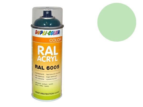 Dupli-Color Acrylic Spray RAL 6019 white green, glossy - 400 ml