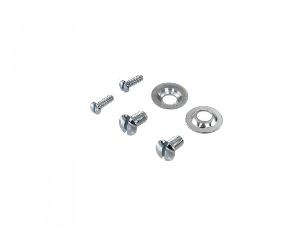 Set: Screws for handlebar cover and parking light KR51 Schwalbe, SR4-2 Star, SR4-3 Sperber, SR4-4 Habicht