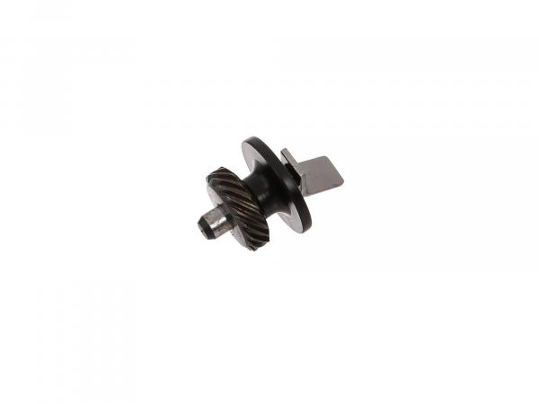 Helical gear Z 17 - Speedometer drive Simson Motor M52 - SR4-1