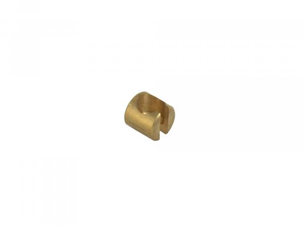 Soldering nipple holder for coupling cable - DOMINO 291.02.363 - Dimensions: ø9,45mm - Height: 9,00mm