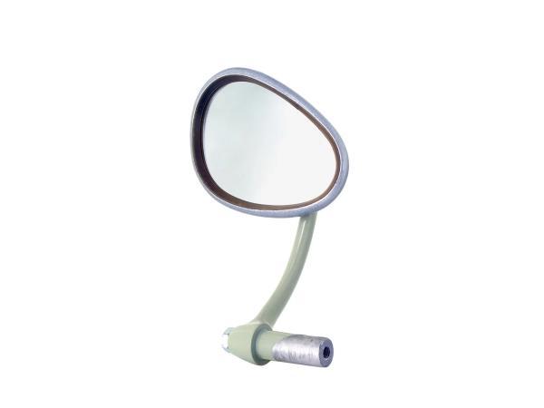 Rückblickspiegel links, Nierenform, Lenkerinnenklemmung - Simson SR4-1 Spatz