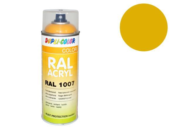 Dupli-Color Acryl-Spray RAL 1004 goldgelb, glänzend - 400 ml