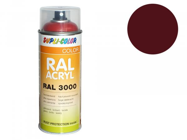 Dupli-Color Acryl-Spray RAL 3005 weinrot, glänzend - 400 ml