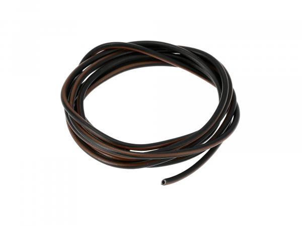 Cable - black/brown 0,50mm² Automotive cable - 1m