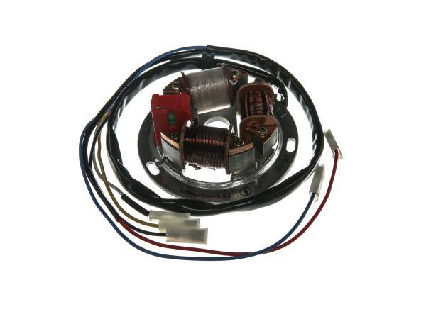 Grundplatte 8305.2-100, 12V Elektronik (42/21W Bilux) - Simson SR50, SR80