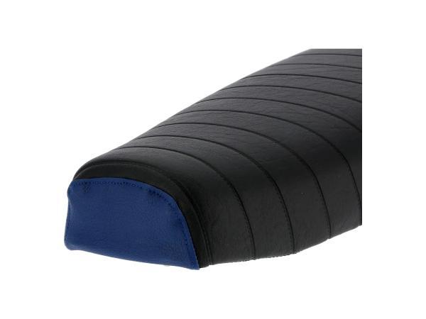 10069578 Sitzbank strukturiert, schwarz/blau ohne Schriftzug - für Simson S50, S51, S70 Enduro - Bild 7