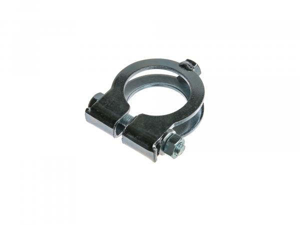 Clamping clamp for heat protection, Ø28mm, Enduro - Simson S51, S70, S53, S83
