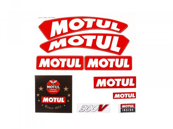 Sticker Set - Motul