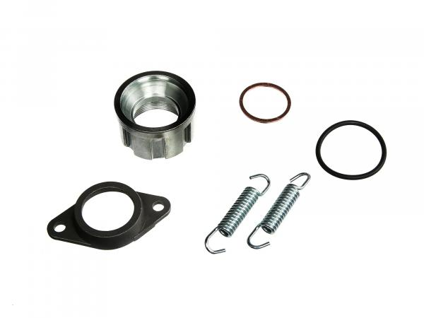 Set: Calotte with accessories complete for 28mm elbow - for Simson S50, S51, S53, S83, SR50, and others.