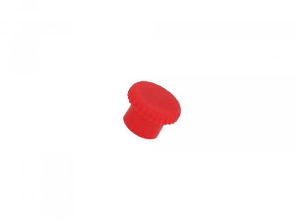 Protective cap for grease nipple without lug red suitable for AWO
