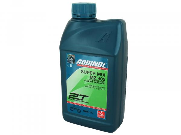 ADDINOL MZ405 - Super Mix 2-stroke engine oil (mixed oil) - 1Liter