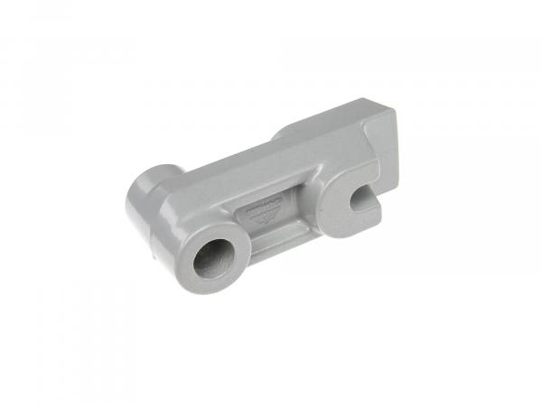 Spacer, rear PPB single layer silver (brake counter support) Simson Mokick / Roller