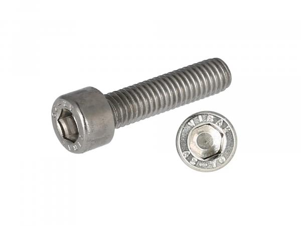Hexagon socket head cap screw, stainless steel M6x25 - DIN912VG