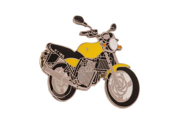 Pin-MZ 125 RT Yellow