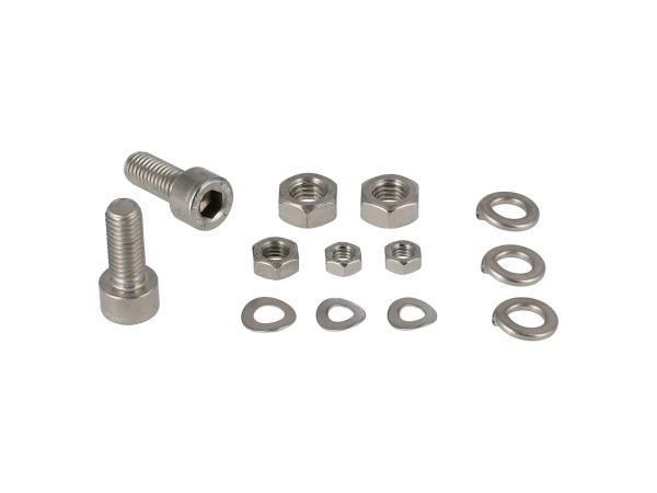 10001232 Set: Zylinderschrauben, Innensechskant in Edelstahl für Lenker SR50, SR80 - Bild 1