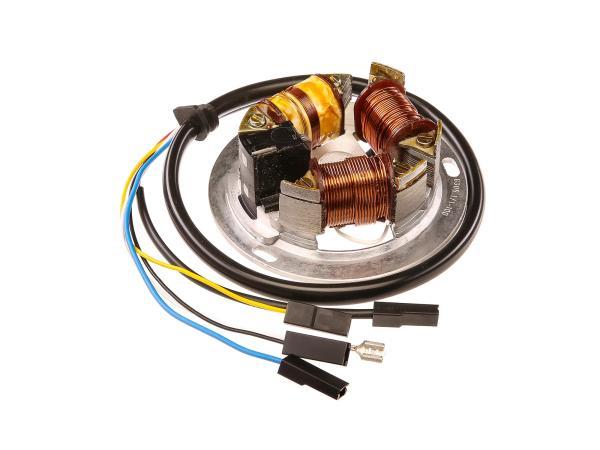 Grundplatte 8305.1/1-100, 6V Elektronik, 35/21W Bilux - Simson S51, S70, KR51/2 Schwalbe