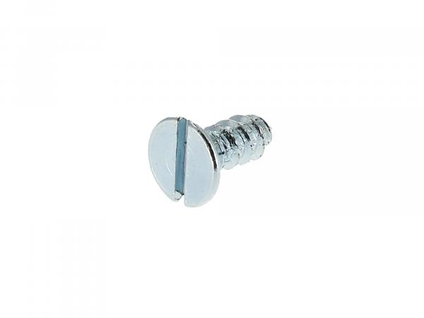Countersunk tapping screw, slotted 3.5x9.5 - DIN7972