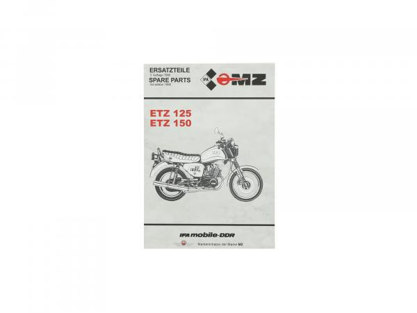 10056003 Ersatzteilkatalog ETZ125, ETZ150 - Bild 1