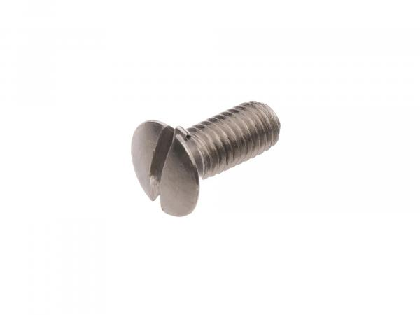 Slotted raised countersunk head screw, stainless steel M5x12 - DIN964