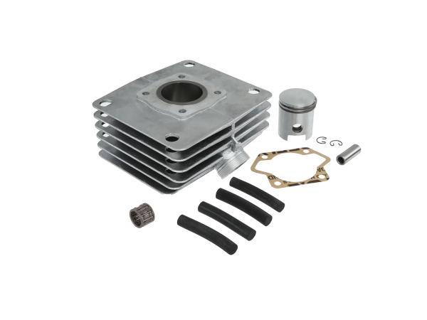 Set: Zylinder + Kolben + Nadellager, 60ccm, abgedrehte Laufbuchse - für Simson S53