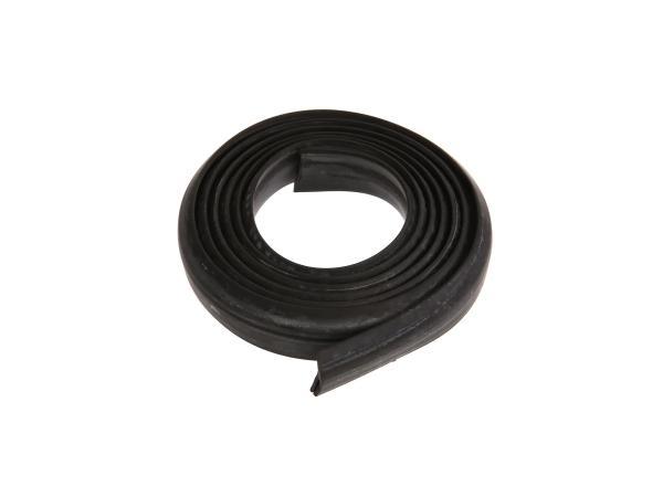 Gummikeder schwarz - für Vorderrad-Kotflügel - Länge ca. 1600 mm - ES 175, ES250, ES300