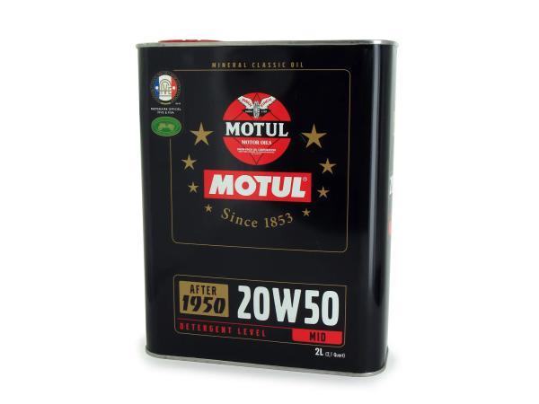 MOTUL Classic Motor Oil SAE20W-50 4-Takt - 2 Liter