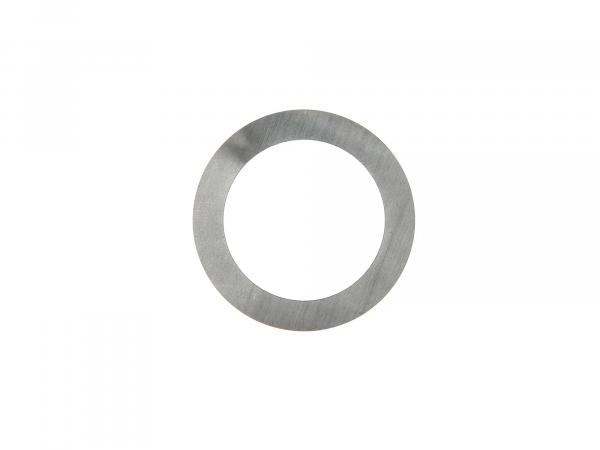 Compensating washer for deep groove ball bearing 6302 (15x42x13) - DIN 988-ST 30x42x0.1 mm - Soemtron engine - crankshaft