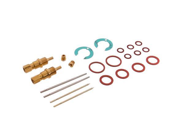 Reparatursatz für 2 Vergaser BK350 (Flachschieber) 22-teilig