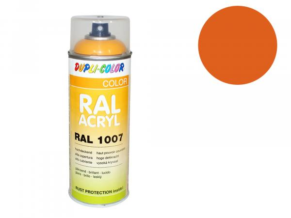 Dupli-Color Acryl-Spray RAL 2000 gelborange, glänzend - 400 ml