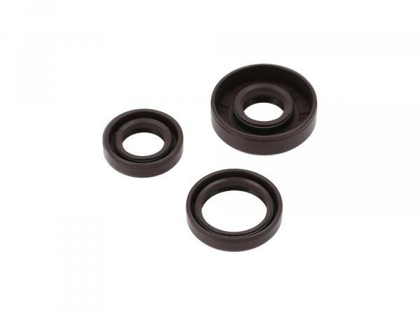 Set: Oil seals motor, brown, double lip - for RT125/1, RT125/2