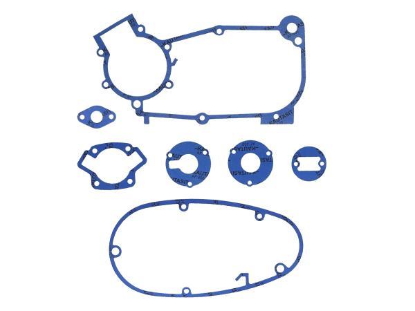 GP10000599 Dichtungssatz aus Kautasit Motortyp M53, M53/1, Flanschdichtung 1/2mm, Ø 16mm - für Schwalbe KR51/1, SR4-1 Spatz, SR4-2 Star, SR4-3 Sperber, SR4-4 Hat - Bild 1