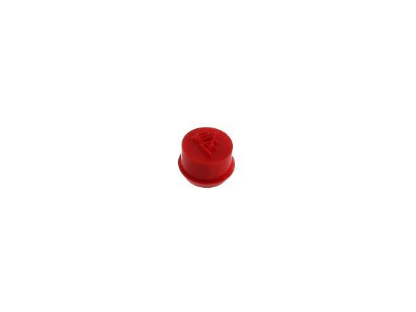10002705 Stopfen für 16N3 Vergaser in Rot - Bild 1