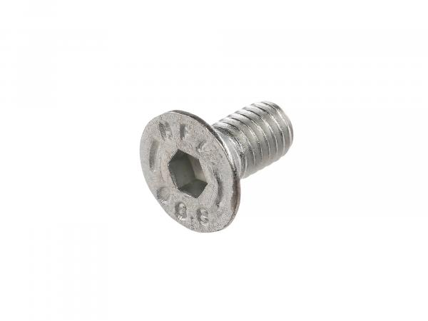 Countersunk screw, hexagon socket M6x12 - DIN7991