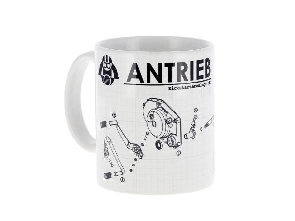 """ANTRIEB Tasse """"Kickstarteranlage S51"""""""
