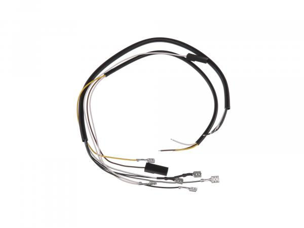 Cable harness for switch combination 6V + 12V without headlight flasher - Simson SR50, SR80