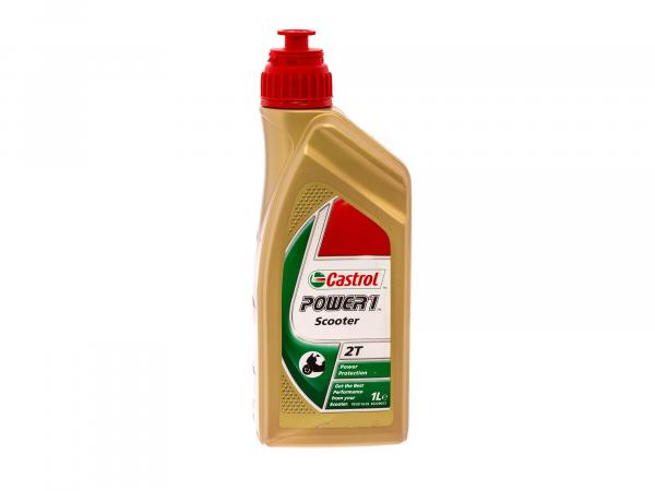 Castrol Engine Oil Power1 Scooter 2T Part Synt. 1 L